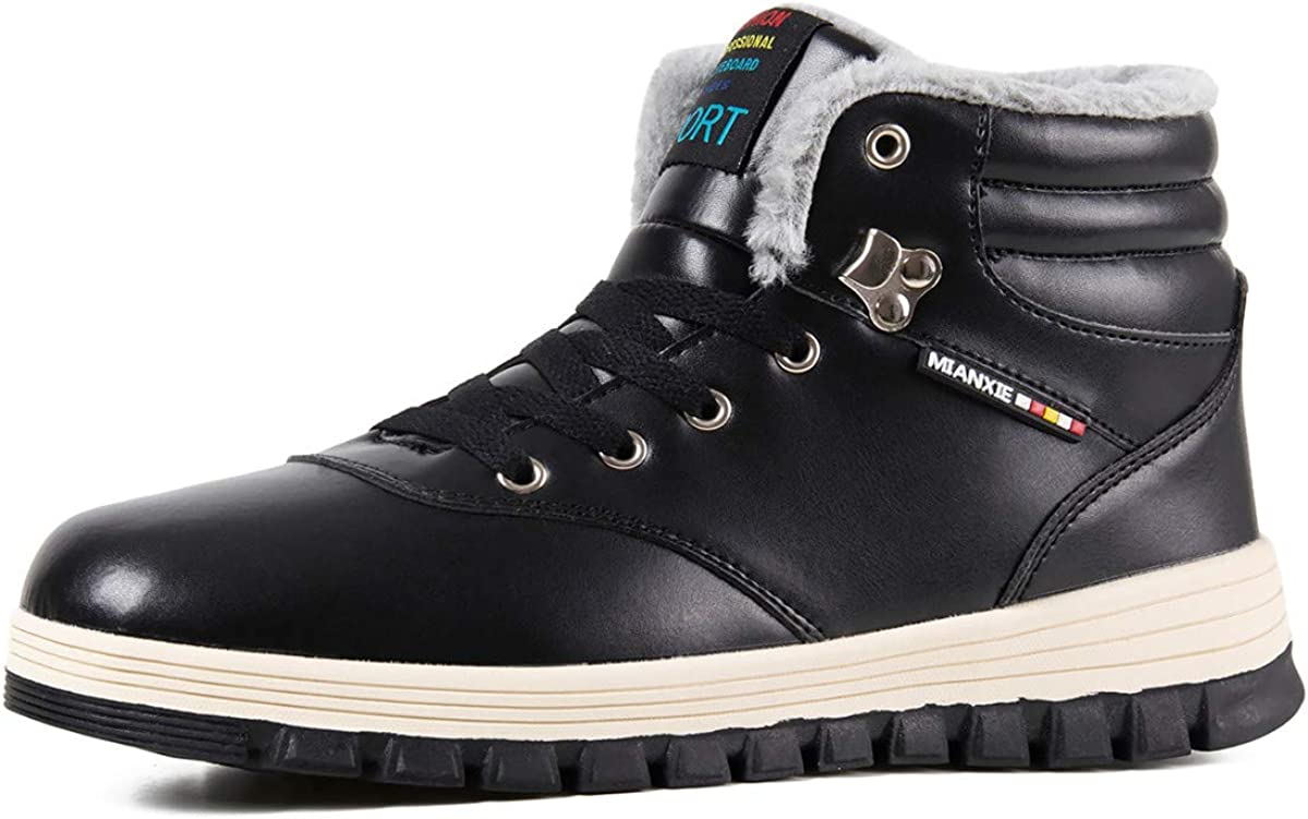 WateLves Mens Womens El Paso Mall Snow Boots Ankle O Winter Superior Booties Anti-Slip