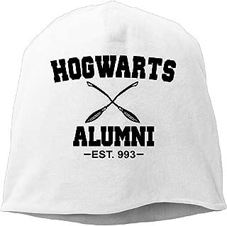 Bng Hogwarts Alumni Beanies Caps Skull Hats Unisex Soft Cotton Warm Hedging Cap,One Size
