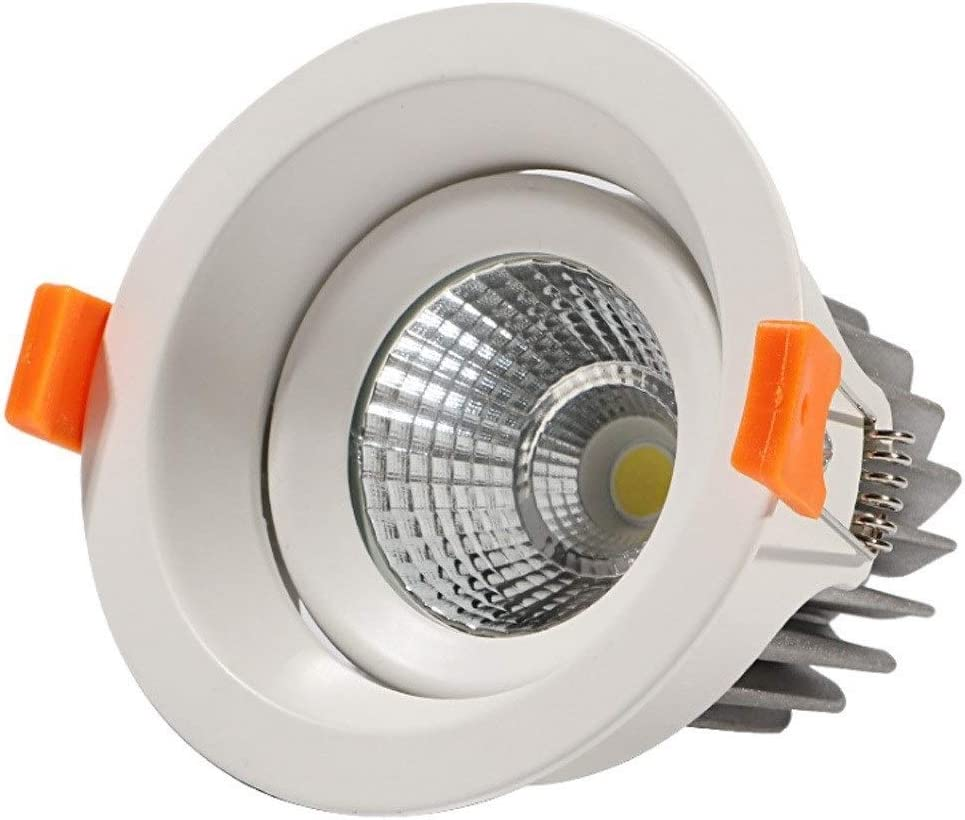 DLGGO OFFicial store Sale SALE% OFF LED Recessed Ceiling Light Downlight 6000k 3 10W 20W 7W