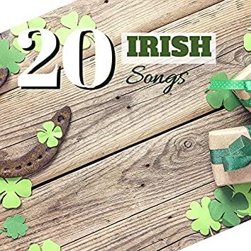 20 Irish Songs - Traditional Music from Ireland, Country Style Tracks for St Paddys