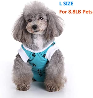 Dog Surgery Recovery Suit for Dogs Surgical Pet Suit Wound Cover Dog Cat Puppy's Post After Surgery Wear Pet Medical Shirt Bodysuit Dog Neuter Cone Alternatives