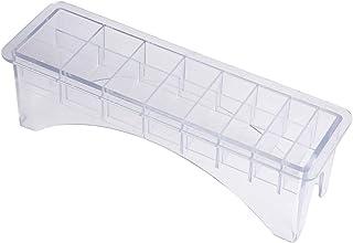 Viccilley Boîte de Rangement de Peigne de Limite en Plastique 8/10 emplacements Tondeuse à Cheveux positionnement étrier P...