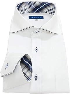 men's uno(メンズウーノ) 長袖ワイシャツ udue 形態安定 ノーアイロン メンズ