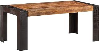 Tidyard Table de Salle à Manger, Table de Cuisine Table de Repas 180x90x76 cm Bois de manguier Massif
