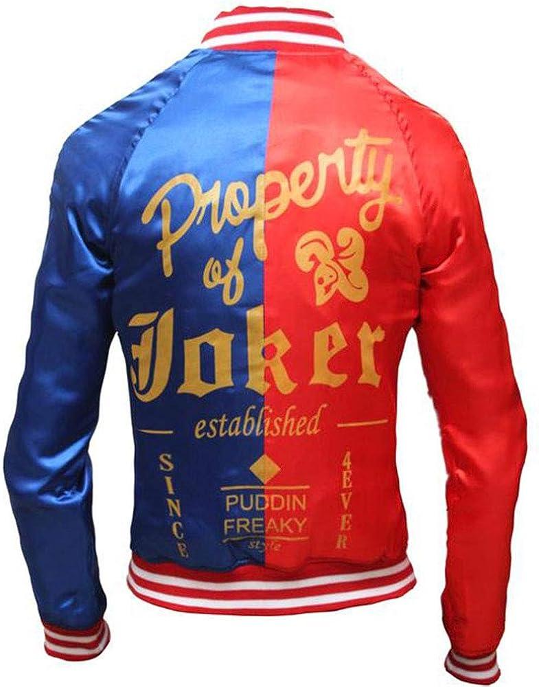 Margot Robbie Suicide Squad Harley Quinn Lightweight Satin Fabric Jacket