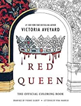 Red Queen: The Official Coloring Book