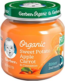 Gerber Organic Potato Carrot Cinnamon