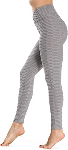 wholesale high Waisted Yoga Pants new arrival for Women Tummy Control Plus Size Textured Ruched Butt Lift Workout Leggings outlet sale Running Sports Tights online sale