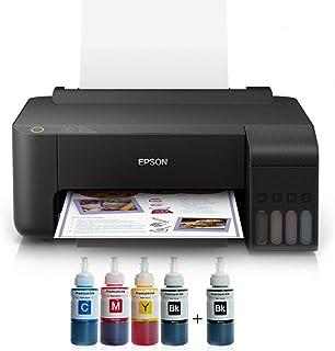 Epson Tanklı L1110 Photoink Mürekkepli Yazıcı 4 Renk Bitmeyen Kartuşlu (1 Siyah Mürekkep Hediyeli)