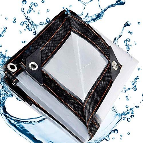 QI-CHE-YI Isolierung Tuch Fenster Kunststoff-Tuch Balkon Persenning, Persenning für Weed Barrier, 5 Mil, 120G / M2,2x7m