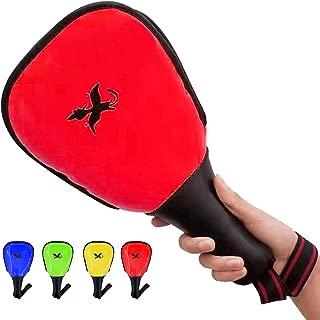 Luniquz Taekwondo Kick Pads, Rebreakable Kicking Target Pads for TKD Karate Martial Arts Strike Training
