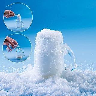 Instant Sneeuw Nep Sneeuw Poeder Pluizige Kunstmatige Sneeuwvlokken Zeer Geschikt Voor Kerstboom Decoratie En Kerst Sneeuw...