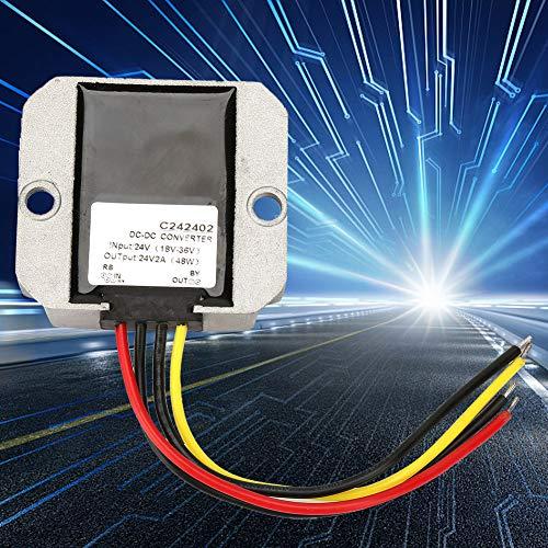 Weikeya Regulador de Voltaje Buck Buck, regulador de Voltaje impermeable-20~80 ℃ Aluminio 24V ± 0.25V