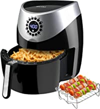 vonshef low fat digital air fryer