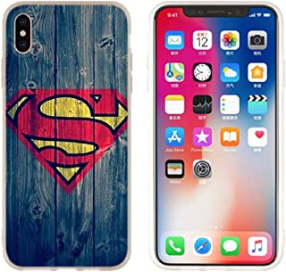 Aestgirl iPhone Case for Superman iPhone 5 5S SE Hero Case Superman Blue Case AC205 (Superman_Blue, 5 5S SE)
