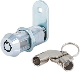 FJM Security 2400AXL-KA Tubular Cam Lock with 1-1/2