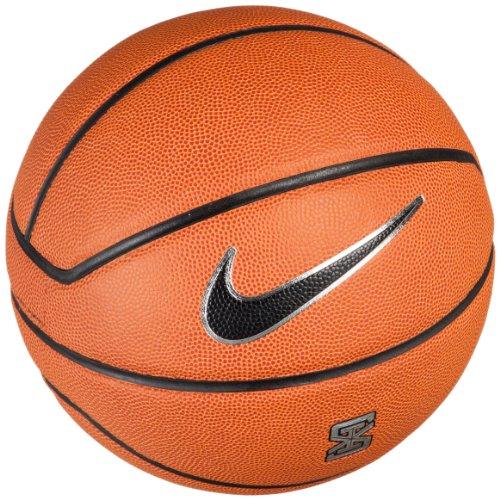 Nike BB0513-801 - Pallone Lebron XI, Misura 7, Colore: Ambra/Nero/Platino