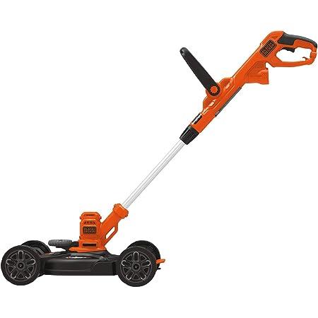 BLACK+DECKER BESTA512CM Electric Lawn Mower, Orange