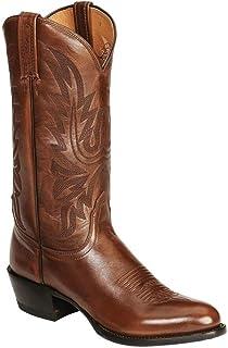 HapyLady Unisex Klassiek Western Laarzen Bloemen Cowboy laarzen Solid