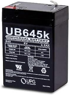 Universal Power Group 6V 4.5Ah SLA Battery for Lucky Duck Rapid Flyer Mallard Hen Decoy
