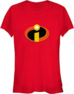 Disney Women's The Incredibles Logo Graphic T-Shirt
