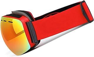 Double Layer Glasses Anti Fog Ski Glasses Outdoor Wind Proof Spherical Myopia Ski Glasses