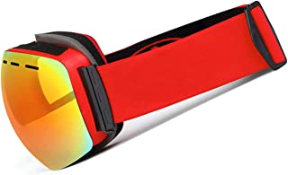 Double Layer Glasses Anti Fog Ski Glasses Outdoor Wind Proof Spherical Myopia Ski Glasses