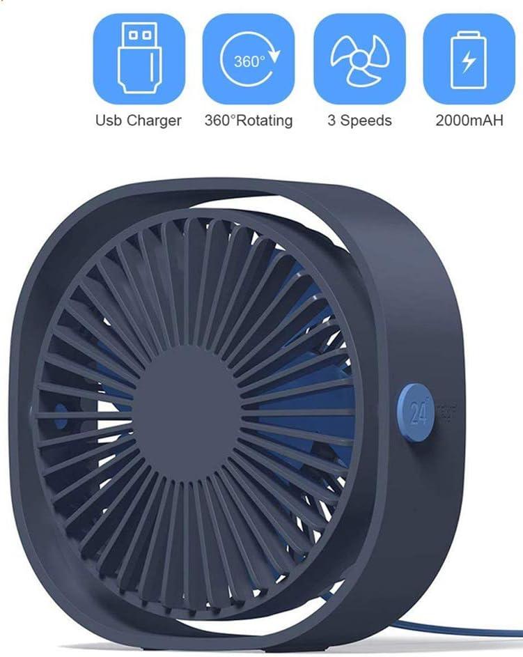 YYYUE Portable Luxury goods Cooling Mini USB Fan 360 Degree Rotation Columbus Mall Speed 3