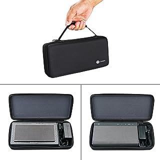 Bolsa de transporte protectora caja bolsa funda para Bowers & Wilkins T7 Creative Sound Blaster Roar 2/1 altavoz Bluetooth portátil extra espacio para enchufe y cables