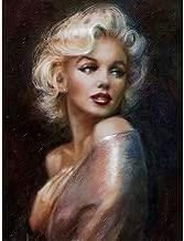 Flowerbeads Needlework DIY Diamond Embroidery Marilyn Monroe DIY 5D Diamond Painting Cross Stitch Marilyn Monroe Rhinestone Picture Home Decoration