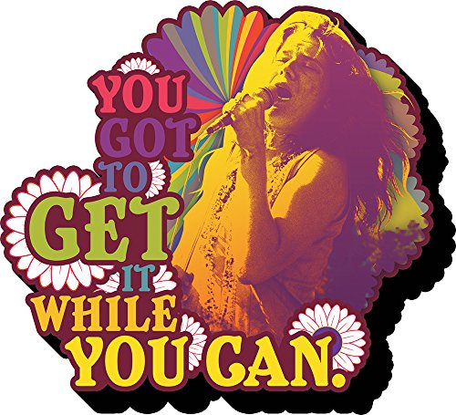 Aquarius Janis Joplin Get It Funky Chunky Magnet