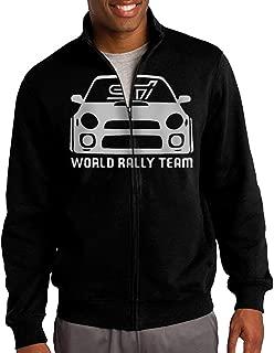 STI WRX World Rally Team Racing Mens Sweatshirt Hooded Jacket