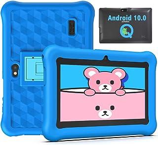 Tablet para Niños con WiFi 7 Pulgadas Android 10.0 Certificado Google GMS Quad Core 2GB RAM + 32GB, Tablet para Niños de 3...