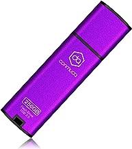 CONMUDA USB 3.0 Flash Drive 128GB Thumb Drive 3.0 Jump Drive Pen Drive Memory Stick Metal High Speed CP08(128gb, Purple)