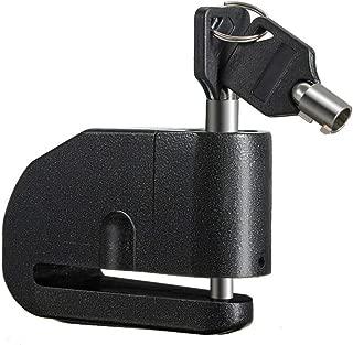 DDARK Alarm Disc Lock, Anti-theft Motorcycle Disc Brake Lock Bike 120db Alarm Security Wheel Lock with 2 Keys