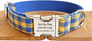 Best blue and yellow dog collar Reviews