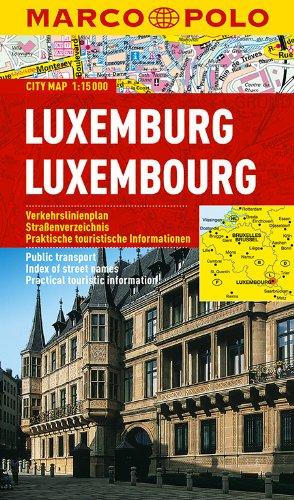 MARCO POLO Cityplan Luxemburg 1:15 000: Stadsplattegrond 1:15 000 (MARCO POLO Citypläne)