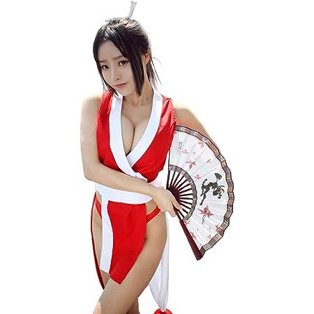 コスプレ 衣装 セクシー 忍者 コスチューム くノ一 レディース フリーサイズ cos1109
