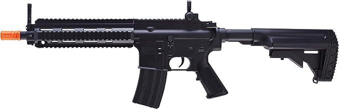 HK Heckler & Koch HK416 AEG 6mm BB Rifle Airsoft Gun, Black