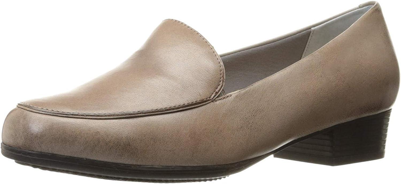 Trotters Women's Monarch Slip-On Loafer, Grey, 10 W US