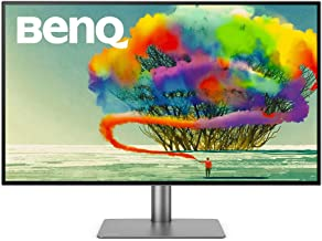 BenQ PD3220U 32 inch 4K UHD IPS Monitor | HDR | AQCOLOR for Color Accuracy | Custom Modes | eye-care Tech | Thunderbolt 3