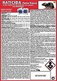 SUPER RAT Azul Raticida Pasta Fresca Elimina Ratones y Ratas - 1 Kg