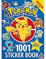 Official Pokémon 1001 Sticker Book