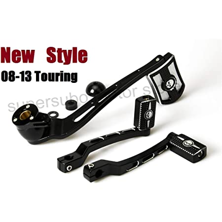 Heel Toe Shifter Shift Linkage Brake Arm Pegs Lever for Harley Touring 2008-2013