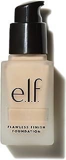 e.l.f. Flawless Finish Foundation | Lightweight, Medium Coverage & Semi-Matte | Beige | 0.68 Fl Oz (20mL)