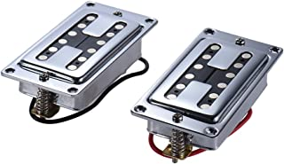ammoon Double Coil Guitar Sealed Humbucker Pickups Pick-ups for LP Electric Guitars with Mounting Screws (Pack of 2pcs)