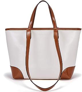 BOSTANTEN Damen Handtaschen Leder Tote Bag Designer Schulter Top-Griff Taschen