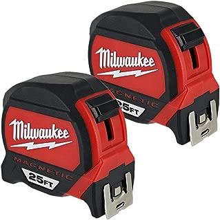 MLW48-22-7125G Magnetic Tape Measure Bogo Pack, 25'
