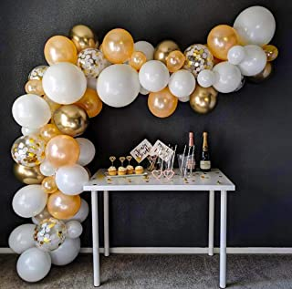 67 piece balloon arch set by IV for all occasions, Contains confetti balloons with accessories for creating an arch withou...