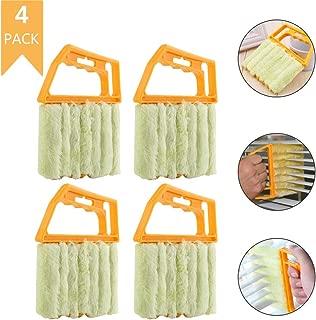 Mini Blind Cleaner Duster Brush Window Blind Brush Microfibre Venetian Blind Cleaner Tool (4/pack)